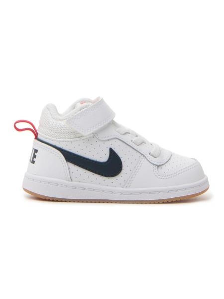 SNEAKERS NIKE COURT BOROUGH MID (TDV) bambino bianco | Pittarello