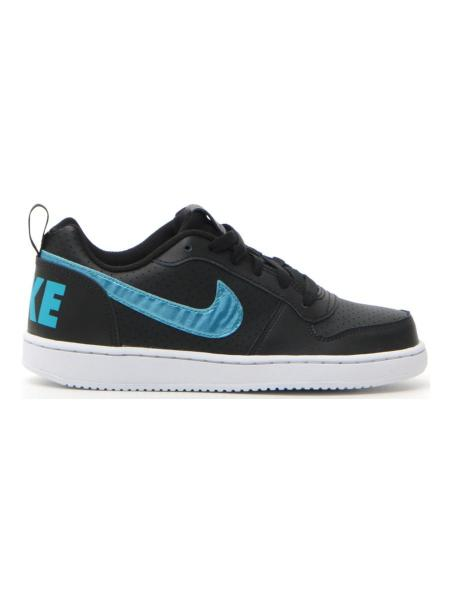 SNEAKERS NIKE COURTBOROUGH LOW bambino nero | Pittarello