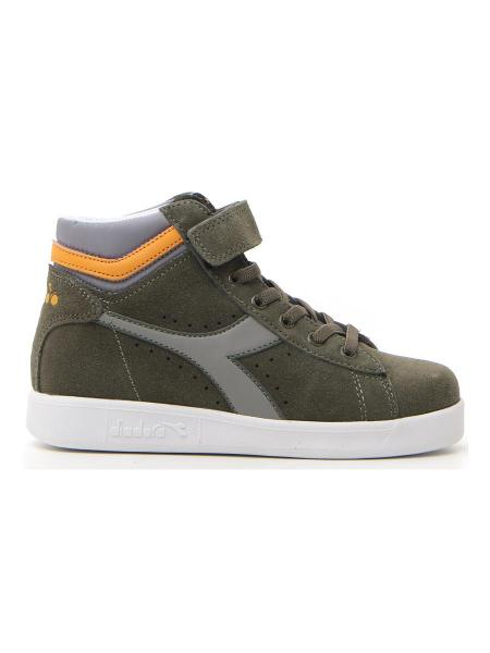 SNEAKERS DIADORA GAME S HIGH PS bambino verde | Pittarello