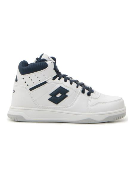 SNEAKERS LOTTO BASKETOP CL L bambino bianco/blu | Pittarello