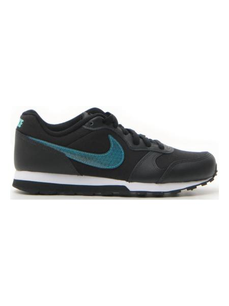 FITNESS NIKE MD RUNNER 2 BBY DRGN (GS) bambino nero | Pittarello